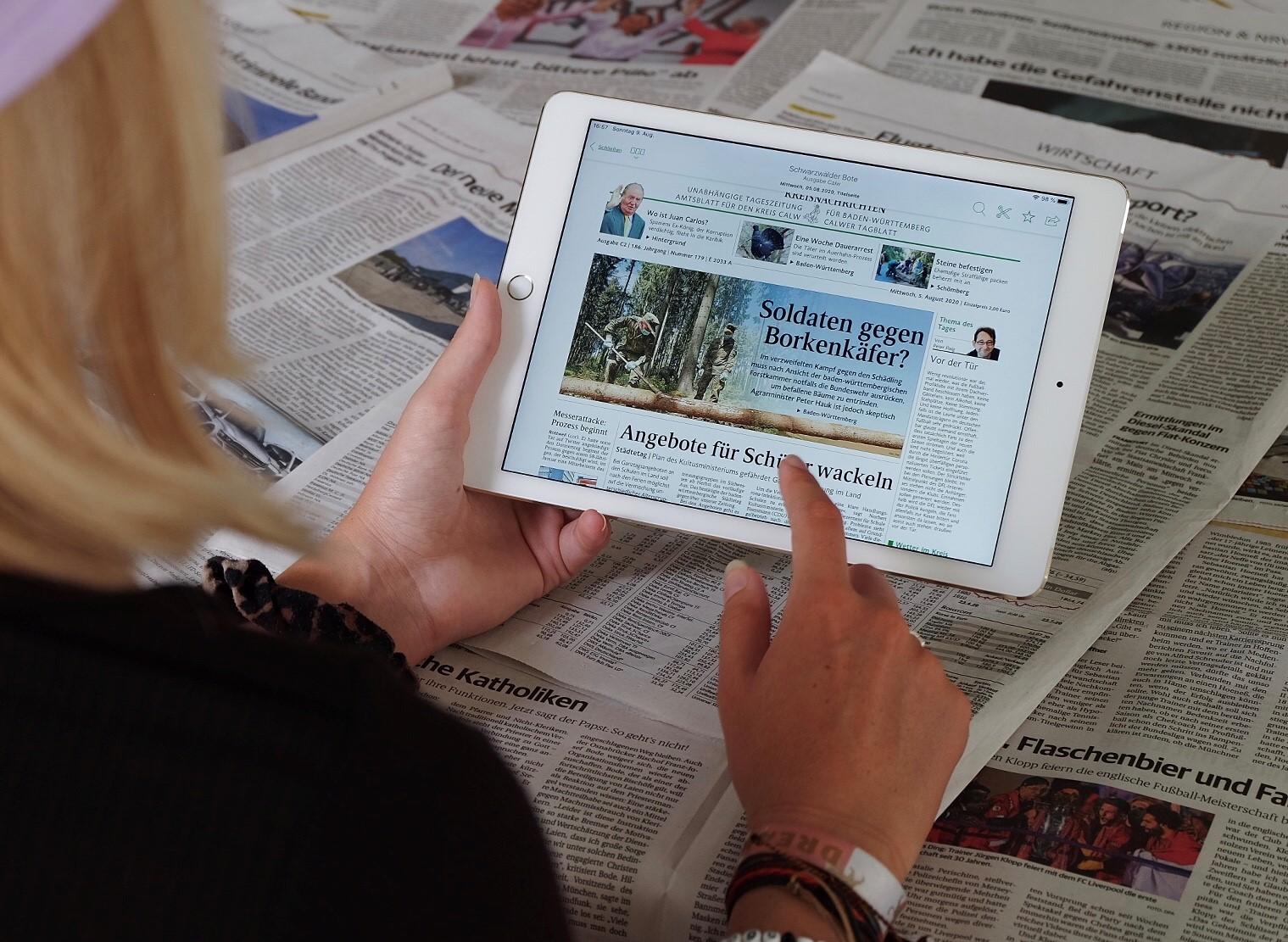 Tablet-Schule Promedia Wolff